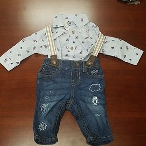 The Children's Place Baby Boys Two Piece Outfit
